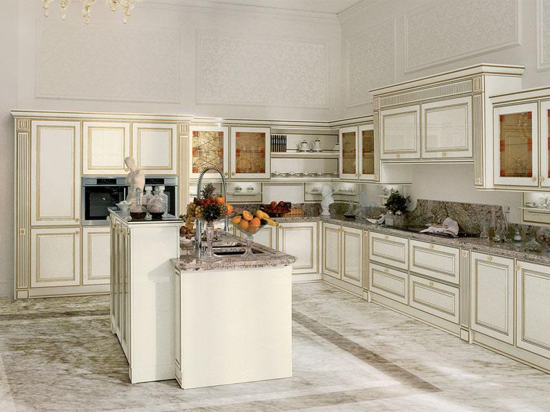 Cucine classiche ghezzi cucine for Case arredate classiche